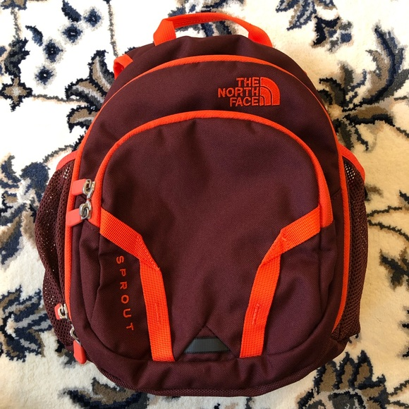 b71a708d77d The North Face Accessories | Hokiecolored North Face Sprout Backpack ...
